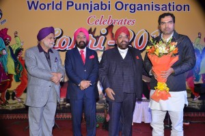 WPO Office Bearers felicitated Sh. Parvesh Verma, MP.