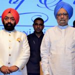 Sh. VS Sahney along with Dr. Manmohan Singh