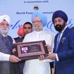 Sr.BS Chadha and Sr. SS Banga with Dr. Manmohan Singh